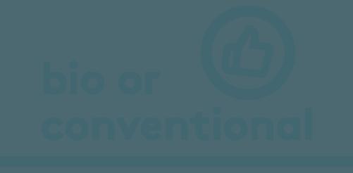 Icone bio conventionnel